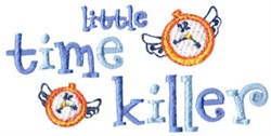 Time Killer embroidery design