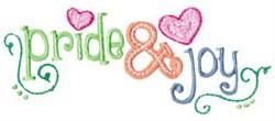 Pride & Joy embroidery design