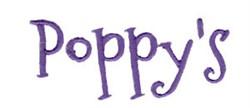 Poppys embroidery design