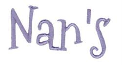Nans embroidery design