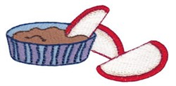 Apple Snack embroidery design