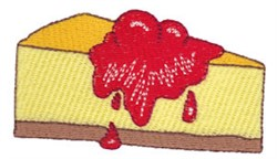 Cherry Cheesecake embroidery design