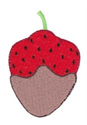 Sweet Treat Strawberry embroidery design