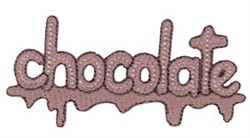 Sweet Treat Chocolate embroidery design