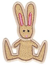 Little Farm Bunny embroidery design