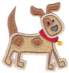 Little Farm Dog embroidery design