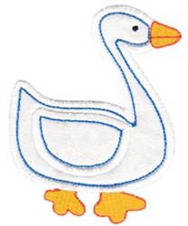 Little Farm Goose embroidery design