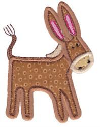 Little Farm Donkey embroidery design