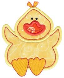 Little Farm Duckling embroidery design