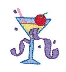 Birthday Cocktail Mini embroidery design