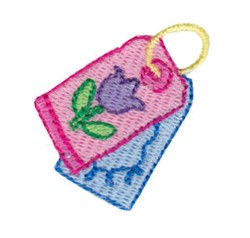 Birthday Tags Mini embroidery design