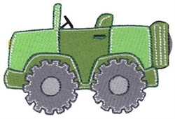 Lets Go Jeep embroidery design