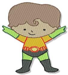 Superher embroidery design