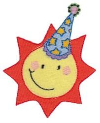 Birthday Bug Sun embroidery design
