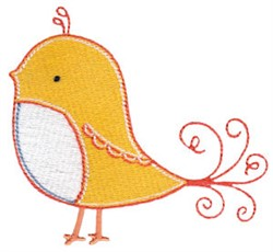 Tweet Thing embroidery design