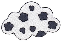 Spotted Cloud embroidery design