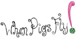 When Pigs Fly! embroidery design