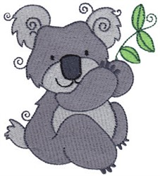Aussie Koala embroidery design