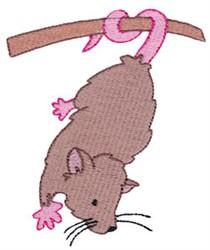 Aussie Opossum embroidery design