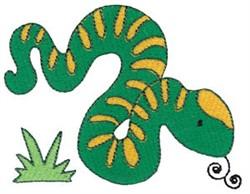 Aussie Snake embroidery design