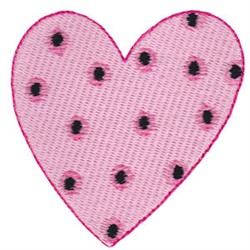 Decorated Heart embroidery design