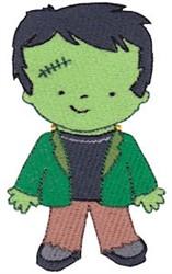 Tiny Frankenstein embroidery design