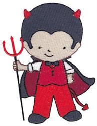 Tiny Devil embroidery design