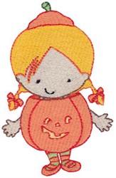 Tiny Jack-O-Lantern embroidery design