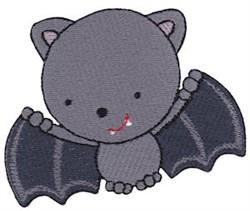 Tiny Vampire Bat embroidery design