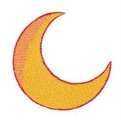 Halloween Crescent Moon embroidery design