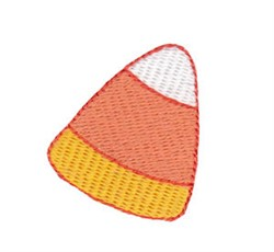 Halloween Candy Corn embroidery design