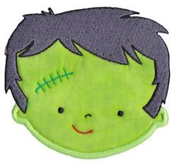 Frankenstein Applique embroidery design
