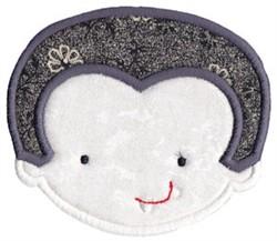 Dracula Applique embroidery design