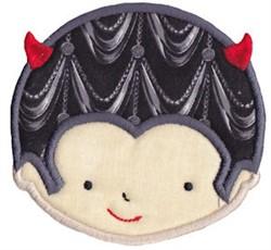 Devil Applique embroidery design