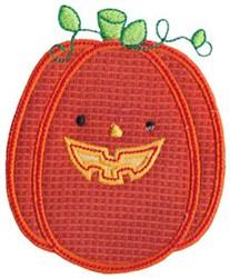 Halloween Jack-O-Lantern Applique embroidery design