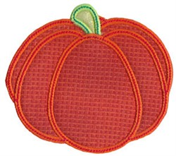 Halloween Pumpkin Applique embroidery design