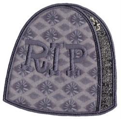 Halloween Tombstone Applique embroidery design