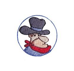 Western Mini Sheriff embroidery design