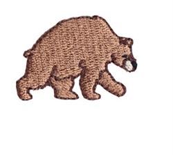 Western Mini Bear embroidery design