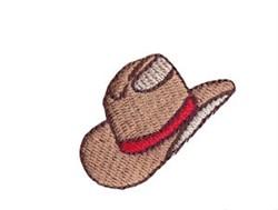 Western Mini Stetson Hat embroidery design