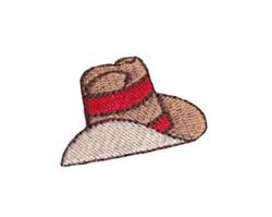 Western Mini Cowboy Hat embroidery design