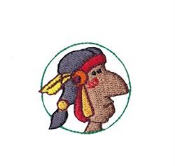 Western Mini Native American embroidery design
