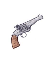 Western Mini Revolver embroidery design