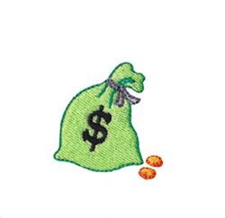 Western Mini Money Bag embroidery design