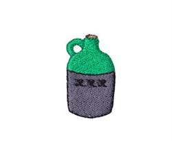Western Mini Moonshine Jug embroidery design