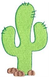 Wild West Cactus embroidery design