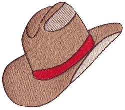 Wild West Stetson Hat embroidery design