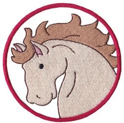 Wild West Stallion embroidery design