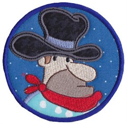 Wild West Sheriff Applique embroidery design