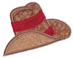 Cowboy Hat Applique embroidery design